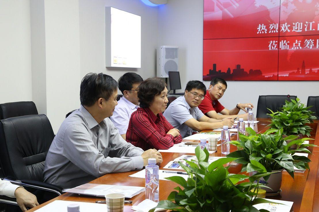 郭学勤书记总结部署江西省农企服务重要工作